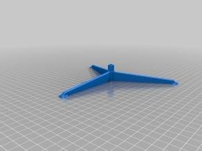 My Customized Customizer - Model Rocket Display Stand