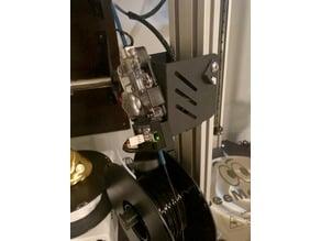 Duet Laser Filament Detector Artemis EZRstruder Mount w/ Round Edges