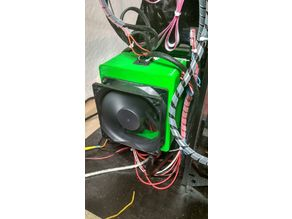 Housing GT2560 board 80mm Fan