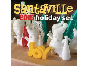 Santaville 2018 Holiday Set