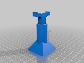 Jack stand (one pc. 60mm tall) 1:10 scale