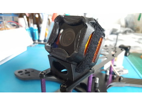Martian II mount for Runcam 3 / Gopro 30 degree