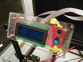 Removable LCD Mount for TEVO Tarantula LCD Display