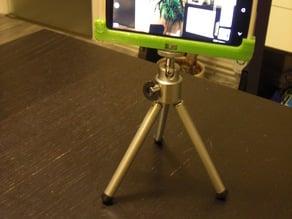 HTC One X tripod mount