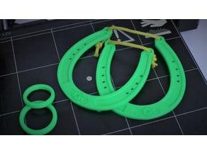 Horseshoe Ring Puzzle