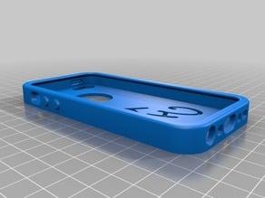 Iphone 5 unique case (flexy filament)