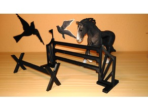 Obstacles for schleich horses