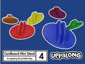 Cardboard Mini Clip Stands