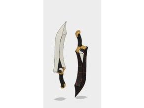 Fate Stay Night's Kanshou and Bakuya Blades