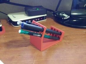 Modern 8 Pen Holder