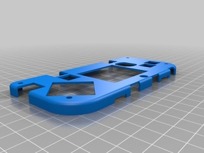 MAKERbuino front plate (old ugly design)