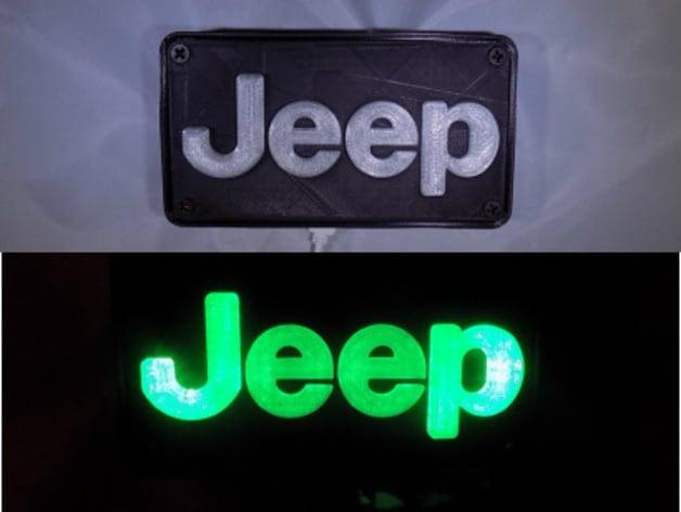 Jeep Emblem Light