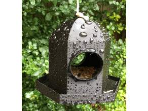 British Garden Bird Feeder