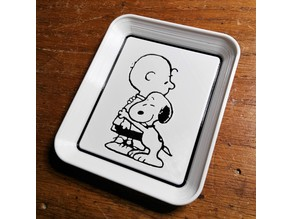 Charlie and Snoopy Tray