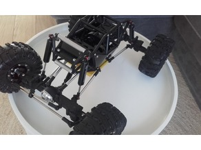 Gmade R1 1:10 Scale Rock CRAWLER Buggy skid plate