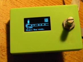 ".96"" MKS OLED case cover"