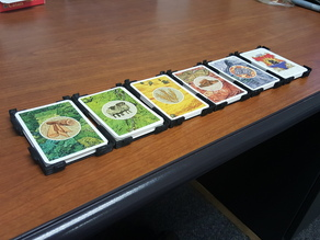 Catan Card Tray/Holder Snapable & Stackable