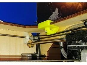 Replicator y-axis belt tensioner
