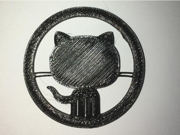 Octocat Github Logo by LeeChristmas