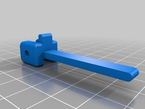 Pivot Lever for a Prusa i3 Y Carriage EndStop Switch