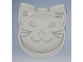 Cat Food Scoop 1/4 Cup