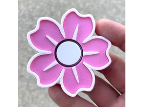 Sakura Spinner (Cherry Blossom-Shaped Fidget Spinner)