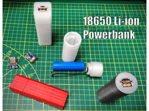 18650 Powerbank (Portable USB charger)