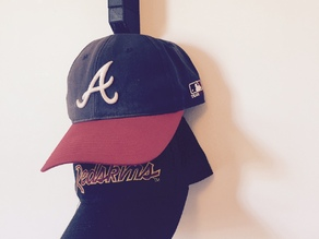 Modular Baseball Hat Rack (wall mounted)