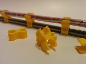 Wire organizer pins