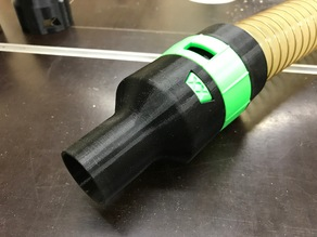 vacuum spiral hose connector 50mm