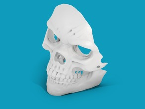 Supportless Skull Mask