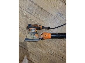 Rigid Palm Sander Vacuum Adaptor