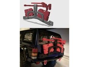 Axial SCX10ii Cherokee - Rotopax Utility Rack
