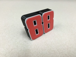 Dale Earnhardt Jr 88 Multi-Color