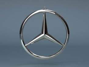 MERCEDES Keychain created in PARTsolutions