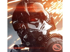 Inferno Squad; Tie Pilot Helmet Hose connectors (ROTJ - BF game)
