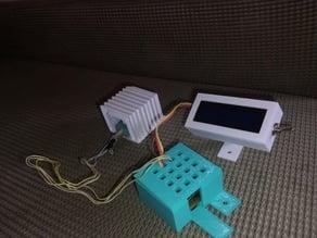 Serial LCD locking ball holder
