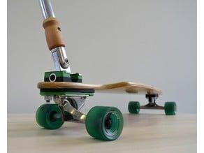 Longboard Steering Stick System