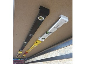 Holder / Mount for spirit level -- Halterung für Wasserwaagen