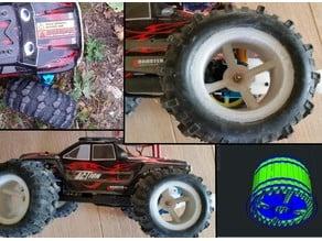 big wheels no extension need for wl toy vortex A979b A959 A969  A959b A969b 1/10