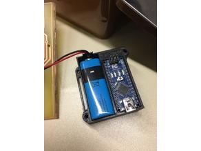 Arduino Nano V3 Case with 9V Battery Department