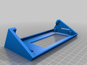 LCD Support for Kossel Mini