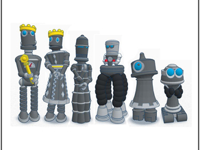 Robot Chess - Tinkercad