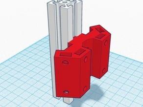 Kossel Mini 2020 plexiglass holder