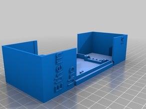 My Customized Hinged  arduino case UPDATED