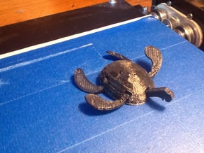 awesome turtle toy, movable arms and head