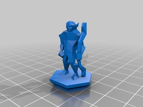 Low Poly Fantasy Tabletop Fixed