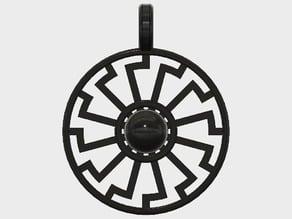 Black Sun Pendant