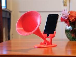 GRAMiPhone - iPhone 6 Gramophone Horn