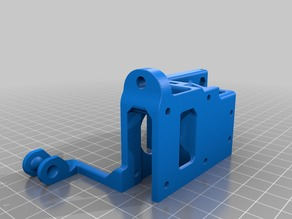 hta3d modified extruder for hotend all in one evo from hotends